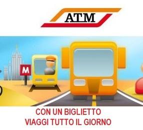 ATM: bici gratis e con un biglietto viaggi illimitati per  tutto il giorno