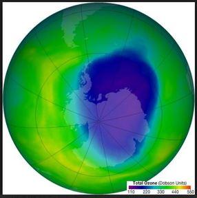 IL BUCO DELL OZONO SI STA RIDUCENDO