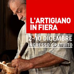 L ARTIGIANO IN FIERA dal 2 al 10 dicembre alla fiera Milano (Rho-Pero)