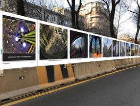 Milano in 8mm. Mostra a cielo aperto dei lavori di Claudio Manenti sulle cesate del cantiere M4.